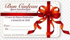 DanseTousStyles bon cadeau 1h30 couple 300x173 - Idée Cadeau danse